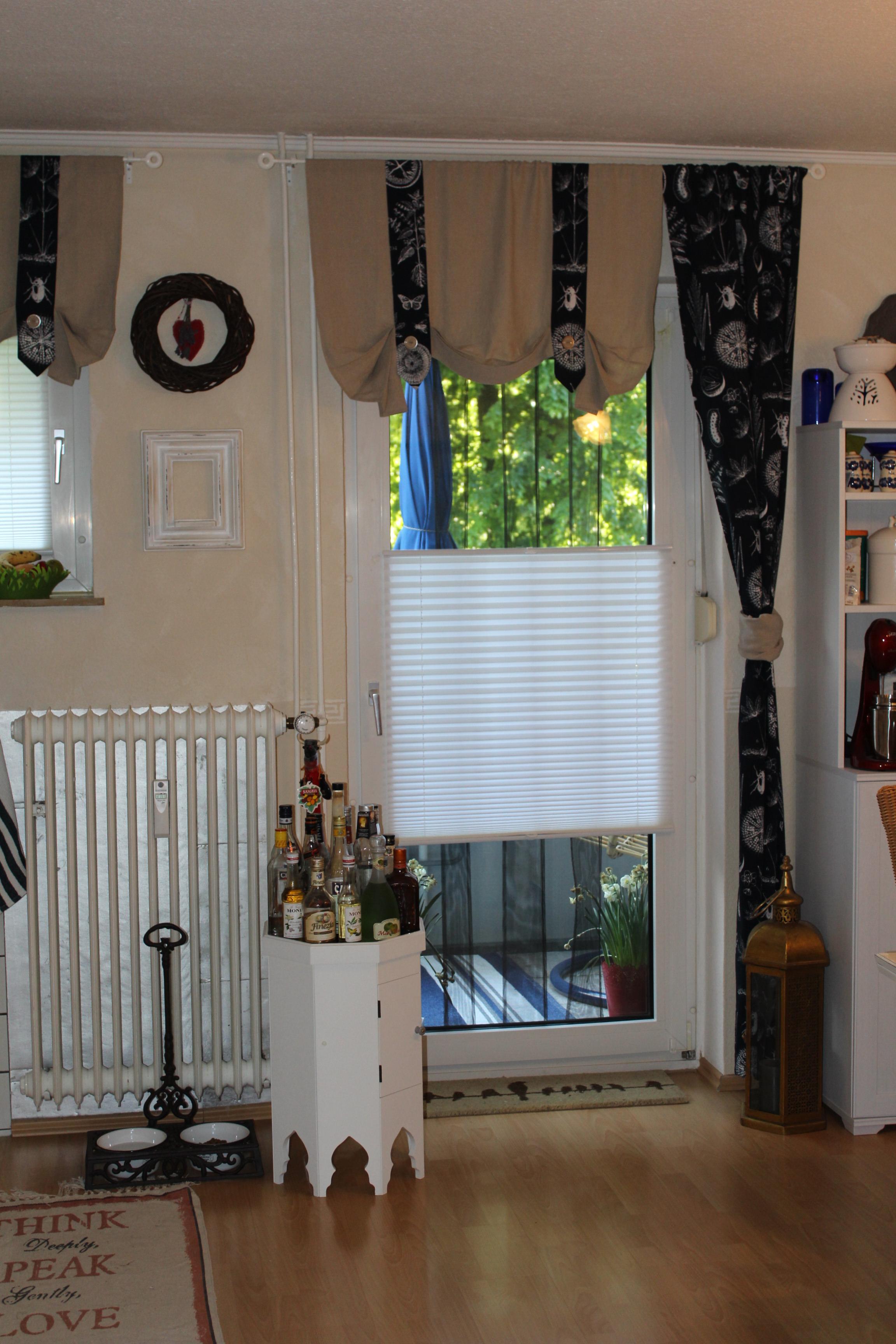 meine k che indigo art by gerdunia. Black Bedroom Furniture Sets. Home Design Ideas